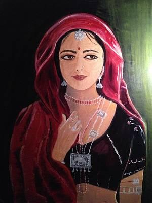 Mystic Woman Art Print by Brindha Naveen