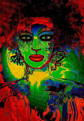 Mystic Woman Art Print by Natalie Holland