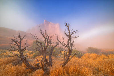 Lanscape Photograph - Mystic Wonders by Darren  White