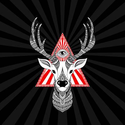 Mystical Deer Original