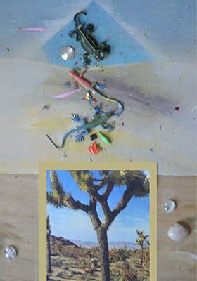 Mystical Desert  A Art Print