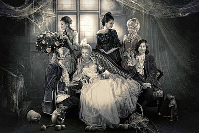 Mystical Family Art Print by Cindy Grundsten