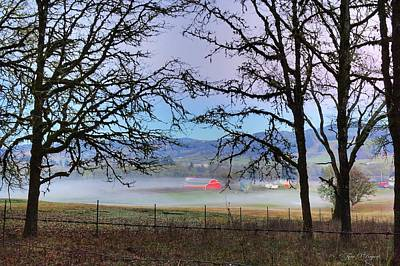 Photograph - Mystical Farm by Tyra  OBryant