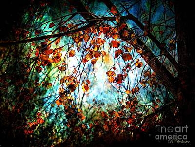 Las Cruces Painting - Mystical Forest - Barbara Chichester by Barbara Chichester