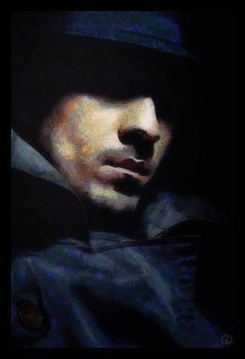Mystical Man Art Print by Gun Legler