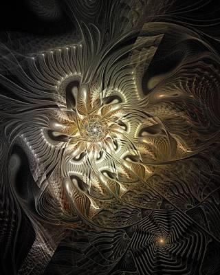 Framed Art Digital Art - Mystical Metamorphosis by Amanda Moore