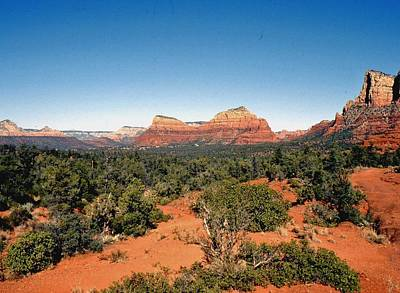 Photograph - Mystical Sedona by Gary Wonning