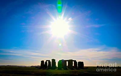 Photograph - Mystical Stones by David Warrington