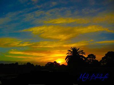 Mystical Sunset Art Print by Mark Blauhoefer