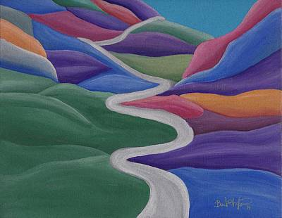 Painting - Mystical Travels by Barbara St Jean