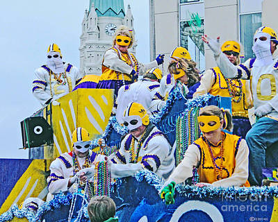 Photograph - Mystique Parade Baton Rouge by Lizi Beard-Ward