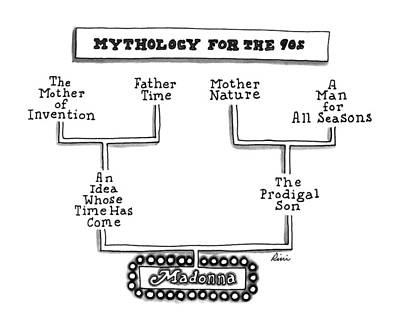 Mythology For The 90s Art Print