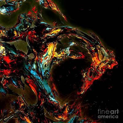 Digital Art - Myths 8 by Bernard MICHEL