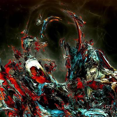 Digital Art - Myths 9 by Bernard MICHEL