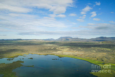 Photograph - Myvatn Area In Iceland by Patricia Hofmeester