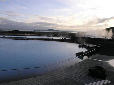 Photograph - Myvatn Nature Bath by Olaf Christian