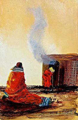 Painting - N 51 by John Ndambo