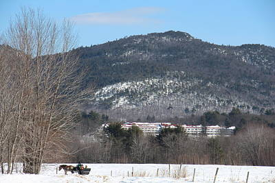 Photograph - New Hampshire Sleigh Rides by Jeffrey Akerson