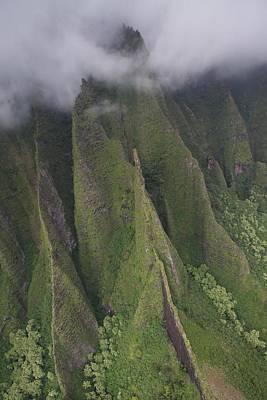 Photograph - Na Pali Clouds by Steven Lapkin
