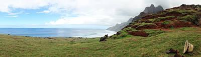 Photograph - Na Pali Coast Kalalau by Tropigallery -