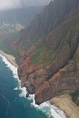 Photograph - Na Pali Coastline Kauai by Steven Lapkin