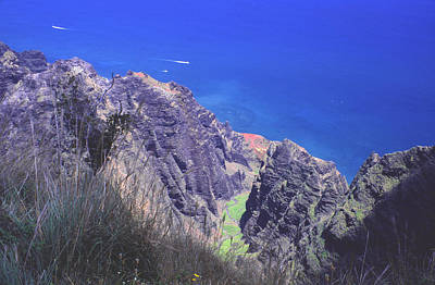 Photograph - Na Pali Heights by Morris  McClung