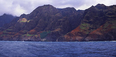 Photograph - Na Pali Panorama by Morris  McClung