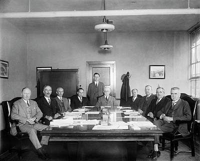 Aeronautics Photograph - Naca Aeronautics Committee by Library Of Congress