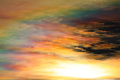 Photograph - Nacreous Clouds 3 by Paul Marto