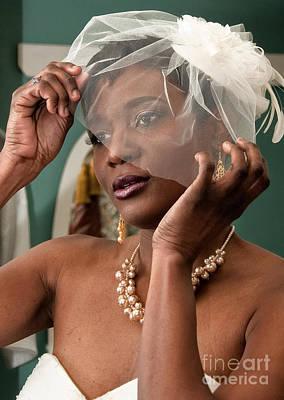 Photograph - Nadia Dresses - Destination Wedding by Kathleen K Parker