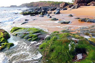 Karnataka Photograph - Nadibag Beach Ankola, Karnataka by Rbb