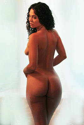 Nude Photograph - Nadine- Window Nude 7 by Stephen Carver
