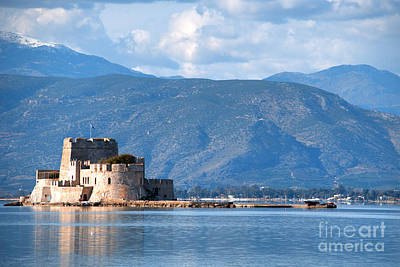 Photograph - Nafplio Greece Sea Fort by Deborah Smolinske
