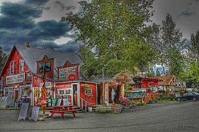 Photograph - Nagley's Store In Talkeetna Alaska by Dyle   Warren