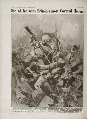 Naik Darwen Singh Negi Print by British Library