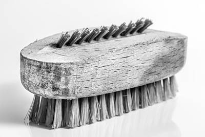 Photograph - Nail Brush. by Gary Gillette