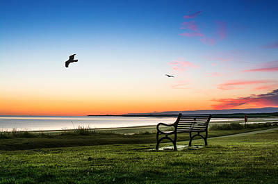 Nairn Beach At Dawn Art Print