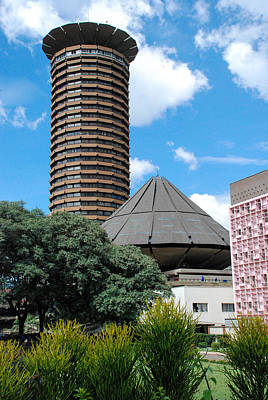 Nairobi Kenya Skyline Print by Robert Ford