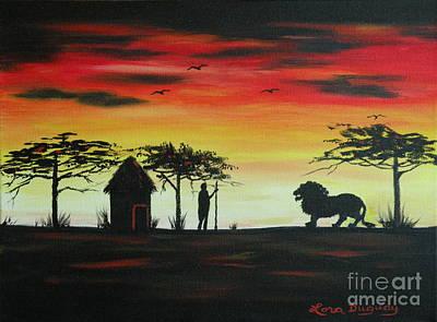 Painting - Nairobi Sunset by Lora Duguay
