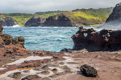 Photograph - Nakalele Landscape Maui by Pierre Leclerc Photography