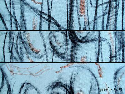 Naked Cindy At 2am Original by Sir Josef - Social Critic -  Maha Art