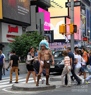 Photograph - Naked Indian by Gregory Dyer