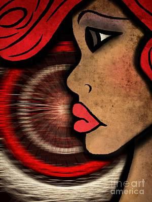Nala Badu Art Print by Angelica Smith Bill