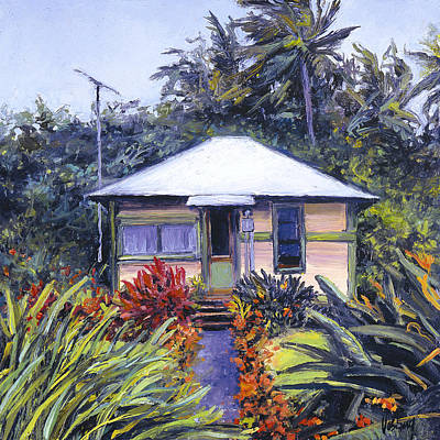 Haleiwa Painting - Nalani's Garden by Stacy Vosberg