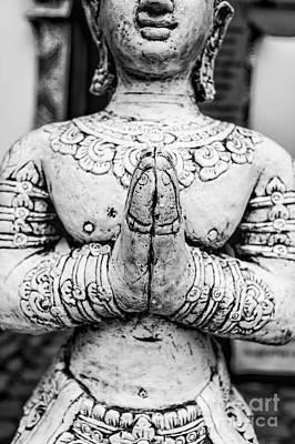 Photograph - Namaskara Mudra by Dean Harte