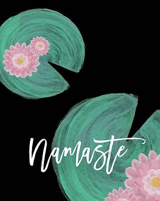 Namaste I Art Print by Amy Cummings