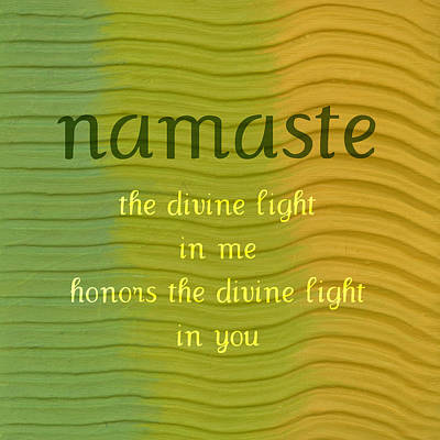 Painting - Namaste by Michelle Calkins