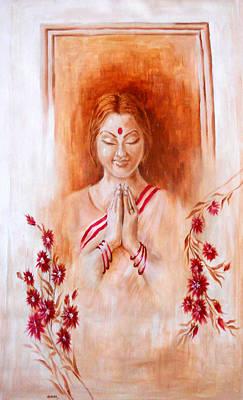 Namaste Original by Sanika Dhanorkar nee Meenal Pradhan