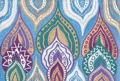 Namaste Art Print by Sri Devi
