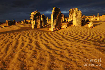 Photograph - Australia Nambung Desert 12 by Bob Christopher
